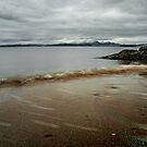 Muted Seamill Beach by George Crawford