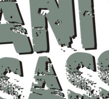 Sanity Assassin Sticker
