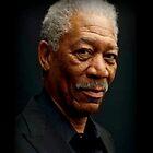 Morgan Freeman by Elizabeth Coats