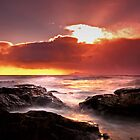 Ne'erday Potencross Frothy Sunset 1 by George Crawford