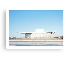 Copenhagen Opera House Canvas Print