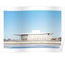 Copenhagen Opera House Poster