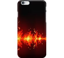 Burning Fire iPhone iPod Case iPhone Case/Skin