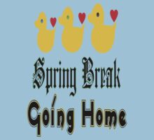 ㋡♥♫Spring Break-Going Home Ducks Clothing & Stickers♪♥㋡ One Piece - Short Sleeve
