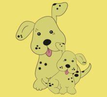 Spotty Dog .. tee shirt Kids Clothes
