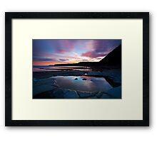 Kimmeridge Colours Framed Print