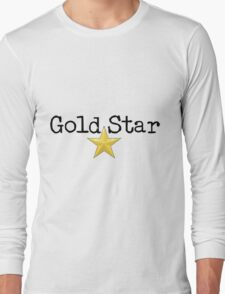 Gold Star Long Sleeve T-Shirt