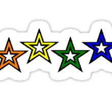 Rainbow Stars Sticker