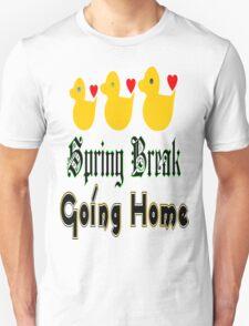 ㋡♥♫Spring Break-Going Home Ducks Clothing & Stickers♪♥㋡ Unisex T-Shirt