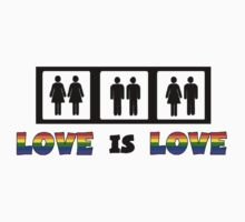 Love is Love by shakeoutfitters