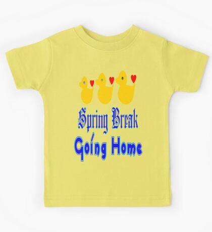 ㋡♥♫Spring Break-Going Home Ducks Clothing & Stickers♪♥㋡ Kids Tee