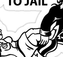 Hillary Clinton For Prison 2016  Sticker