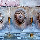 Three faces by Stephen Knowles