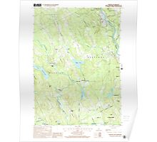 USGS TOPO Map New Hampshire NH Webster 329855 2000 24000 Poster