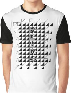 retro checker Graphic T-Shirt