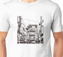 Yokohama - China town Unisex T-Shirt