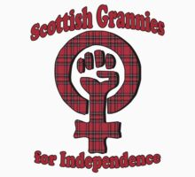 Scottish Grannies for Independence T-Shirt by simpsonvisuals