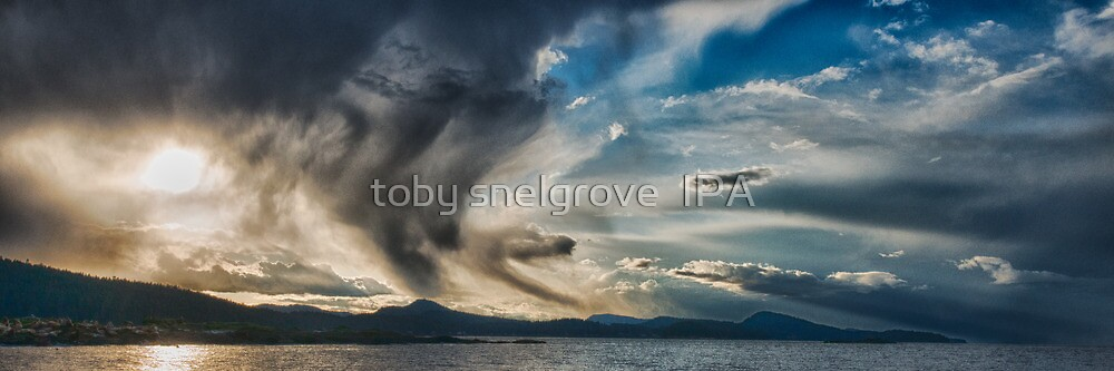 Storm over Mayne Island by toby snelgrove  IPA