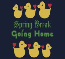 ㋡♥♫Spring Break-Going Home Ducks Clothing & Stickers♪♥㋡ Kids Tee