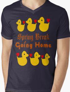 ㋡♥♫Spring Break-Going Home Ducks Clothing & Stickers♪♥㋡ Mens V-Neck T-Shirt