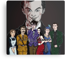 Cluedo Sherlock: The Only Possible Solution. Metal Print