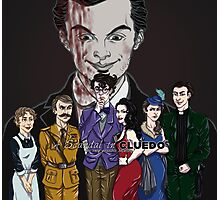 Cluedo Sherlock: The Only Possible Solution. Photographic Print