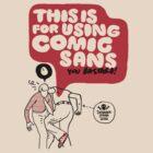 Comic sans by pruine