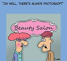 Funny Photoshop cartoon greetings card. by TheNuttaz