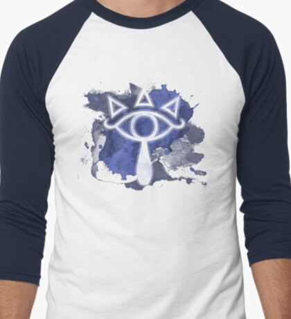 """Tears of Truth"" Men's Baseball ¾ T-Shirt"