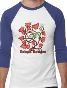 Flaming bush Men's Baseball ¾ T-Shirt