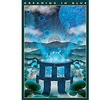 Dreaming in Blue Photographic Print