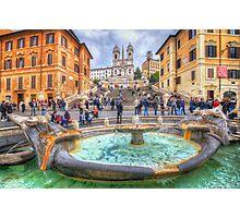 Piazza di Spagna  Photographic Print