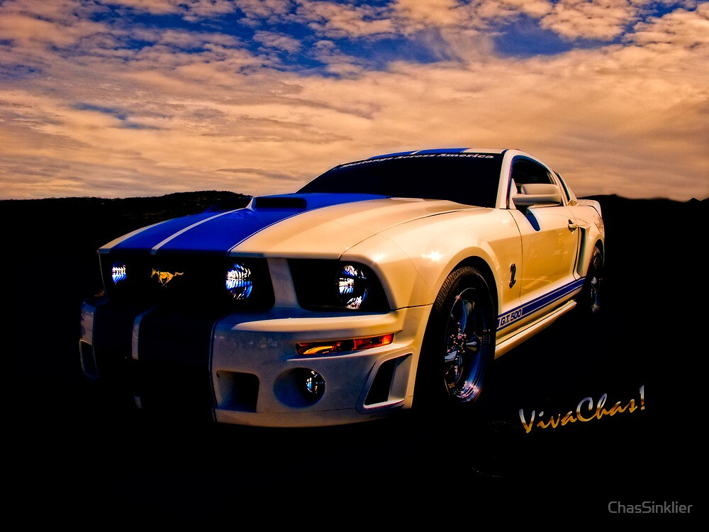 Mustang GT 500 Ready for Mustangs Across America Drive by ChasSinklier