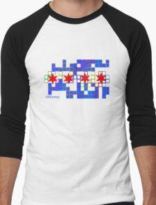 Tetris Chicago Men's Baseball ¾ T-Shirt
