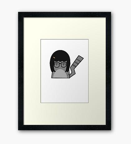 Tina Cat Framed Print