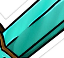 Minecraft Diamond Sword Sticker
