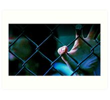 Fenced Out Art Print