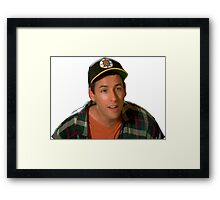 Happy Gilmore (Adam Sandler) Framed Print