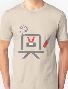 The Drunken Robot Unisex T-Shirt