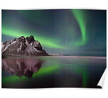 Northern Lights in Iceland. Poster