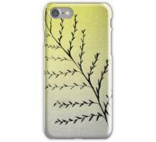 lone leafy phone case iPhone Case/Skin