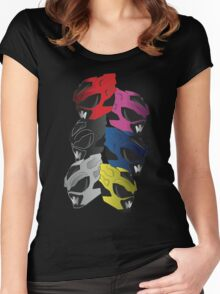 PSYCHO RANGERS  Women's Fitted Scoop T-Shirt