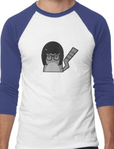 Tina Cat Men's Baseball ¾ T-Shirt