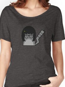 Tina Cat Women's Relaxed Fit T-Shirt