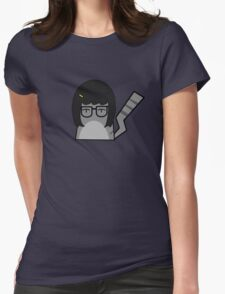 Tina Cat Womens Fitted T-Shirt