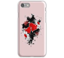 Heart and Flowers Love Tattoo iPhone iPod Case iPhone Case/Skin