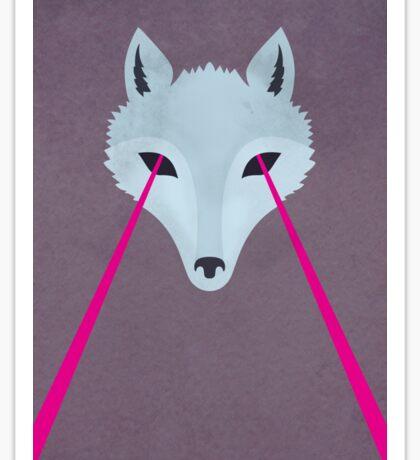 Coyote by Wylee Sanderson Sticker