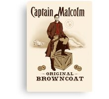 Captain Malcolm  Canvas Print