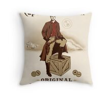 Captain Malcolm  Throw Pillow