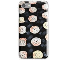 Vintage Vinyl Records iPhone iPod Case iPhone Case/Skin